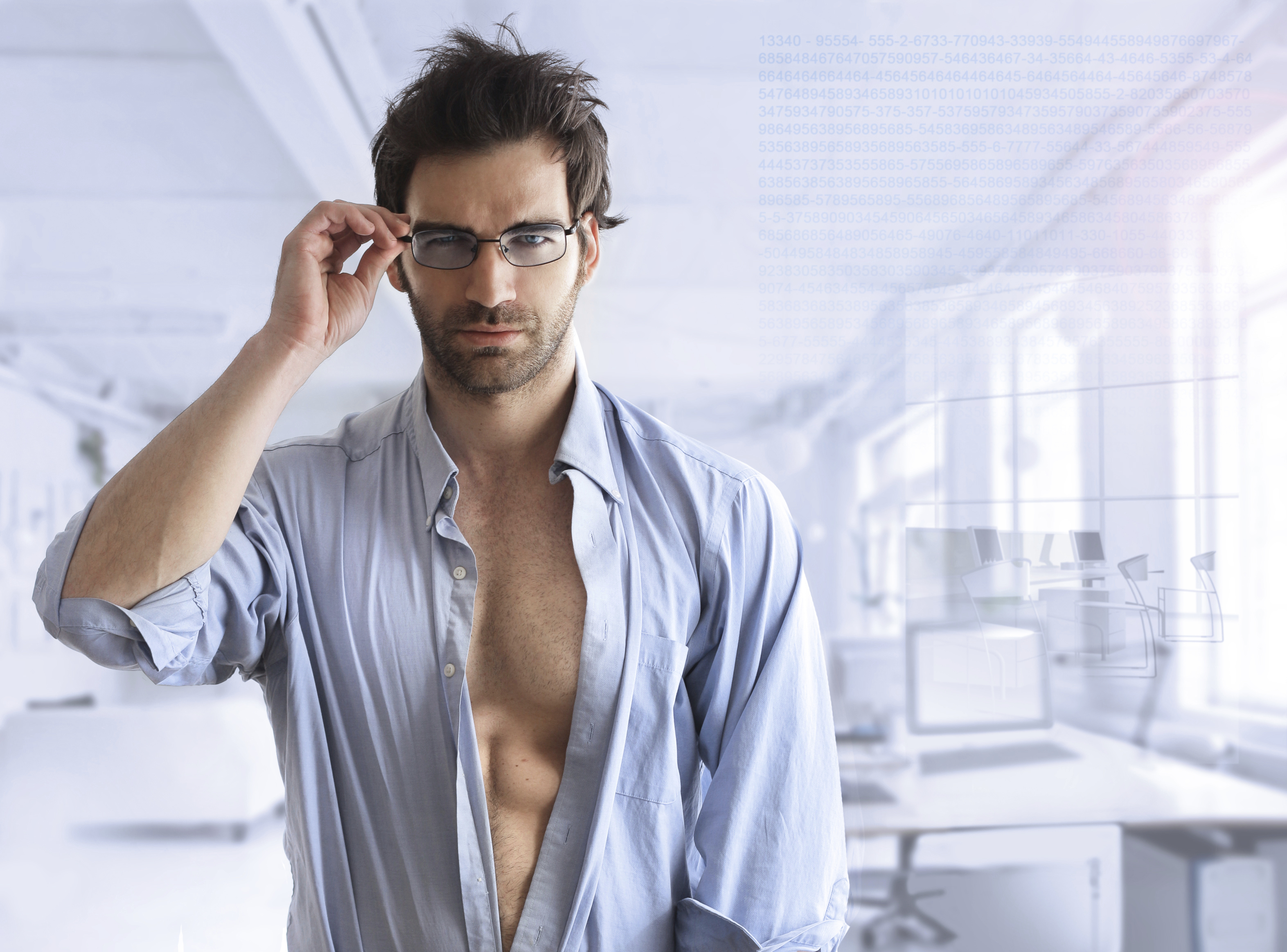 Sexy business guy